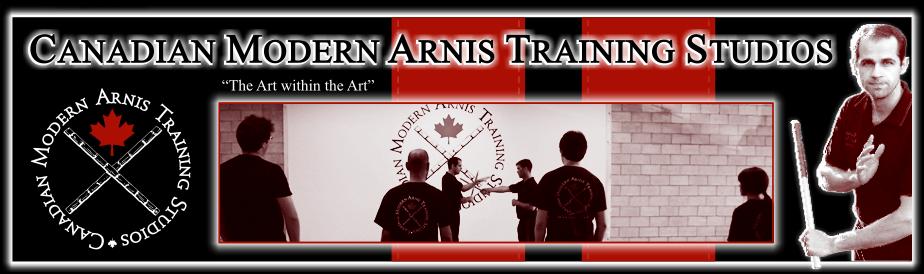 Canadian Modern Arnis Training Studios Logo
